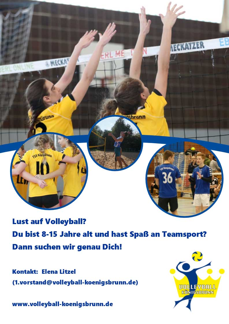 Flyer Volleyball Jugend